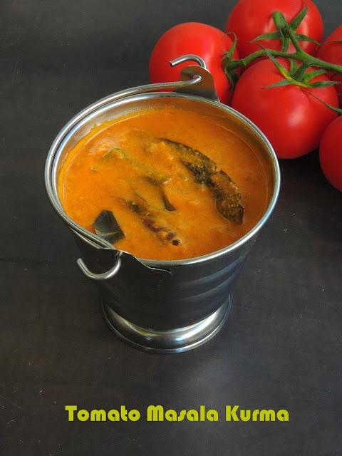 Tomato Masala Kurma,Thakkali Kurma