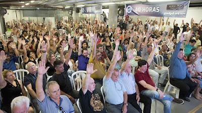 Em São Paulo, pauta da Campanha Salarial é aprovada por unanimidade