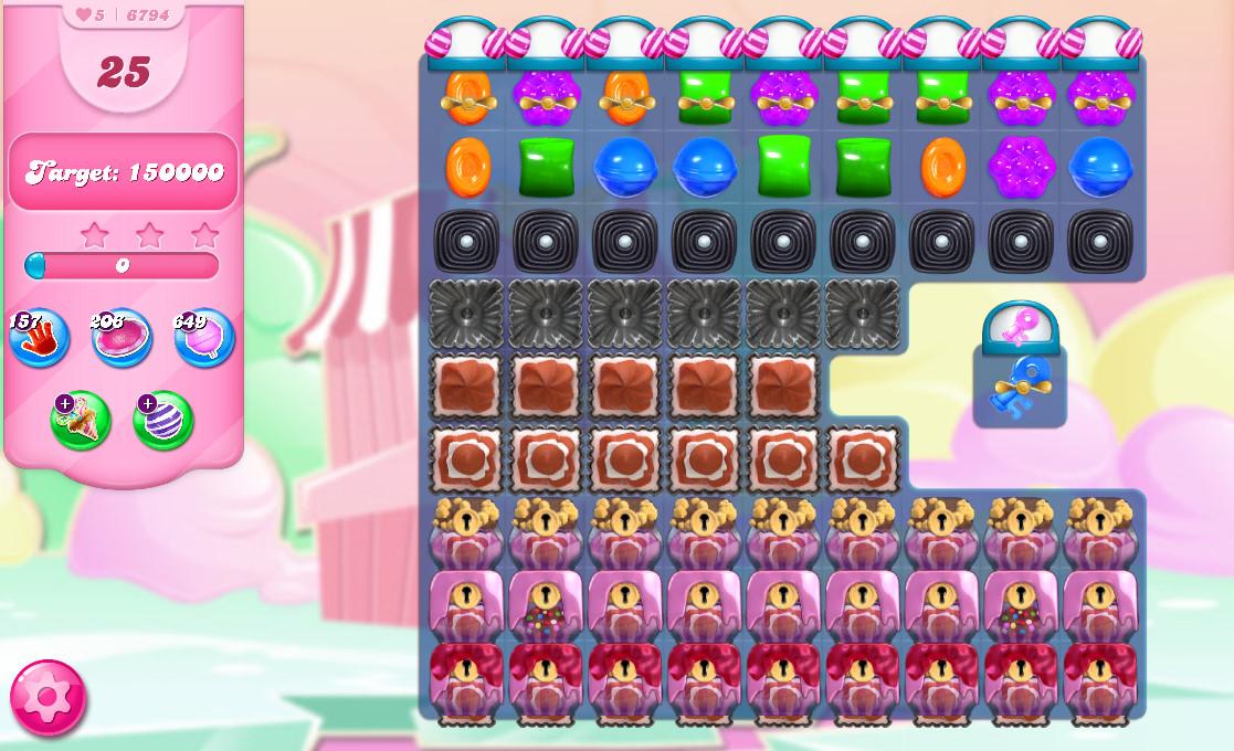 Candy Crush Saga level 6794