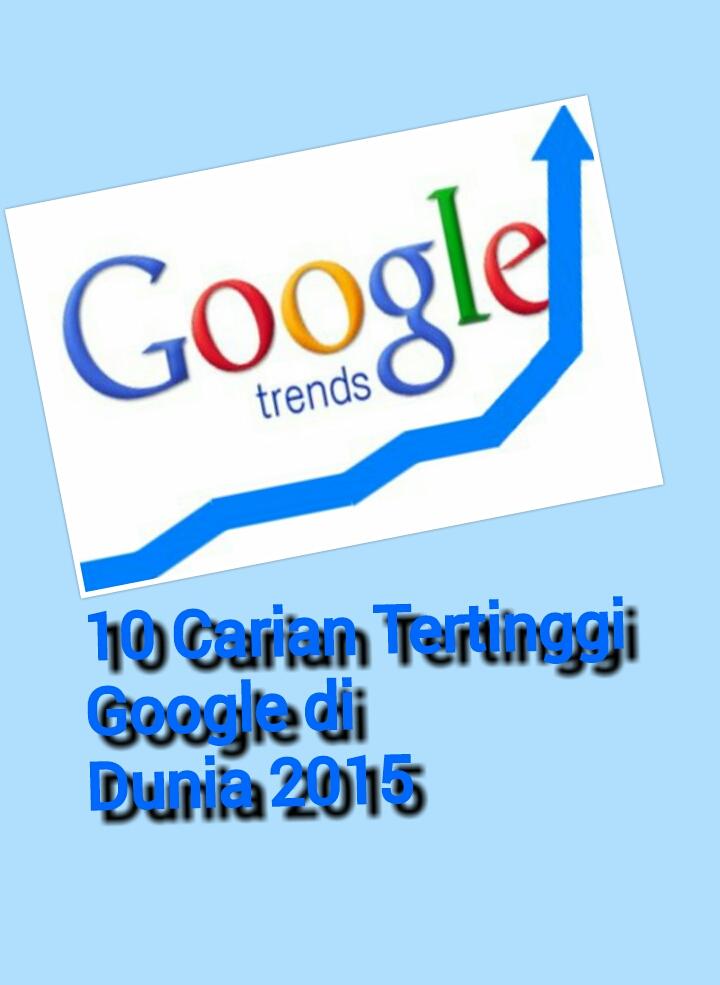 10 Carian Tertinggi Google di Dunia 2015