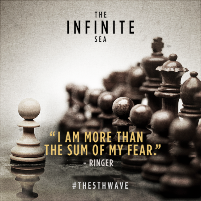 Giveaway Alien Invasion Teaser Tuesday with The Infinite Sea