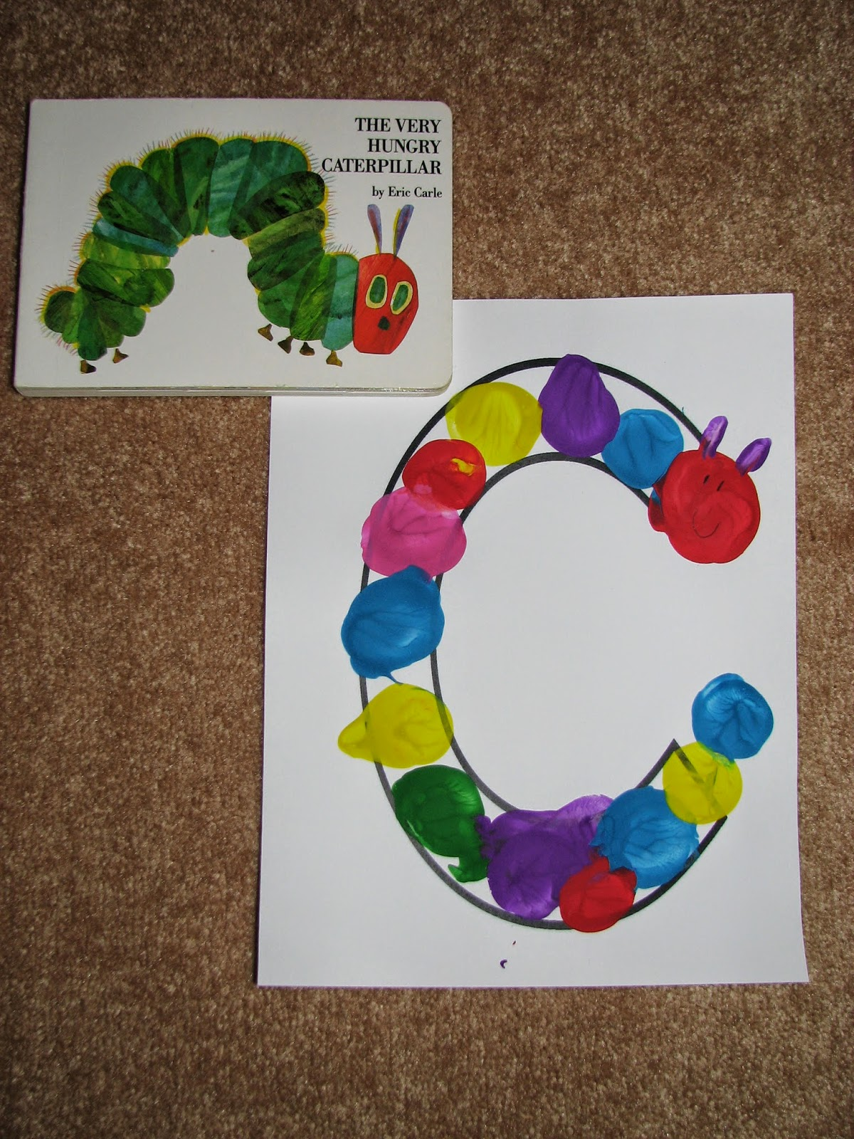 The Learning Train C Is For Very Hungry Caterpillar