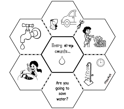 ASH THE TEACHER: Every Drop Counts (Water Conversation)