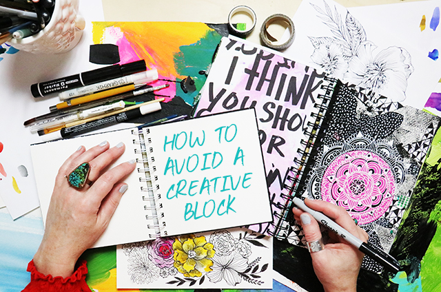frequently asked questions: how i avoid a creative block