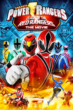Power Rangers Samurai Clash of the Red Rangers -  2012 Poster