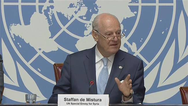 Fighting terrorist groups in Syria on top of UN agenda: Staffan De Mistura
