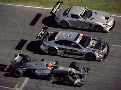 Mercedes AMG cars