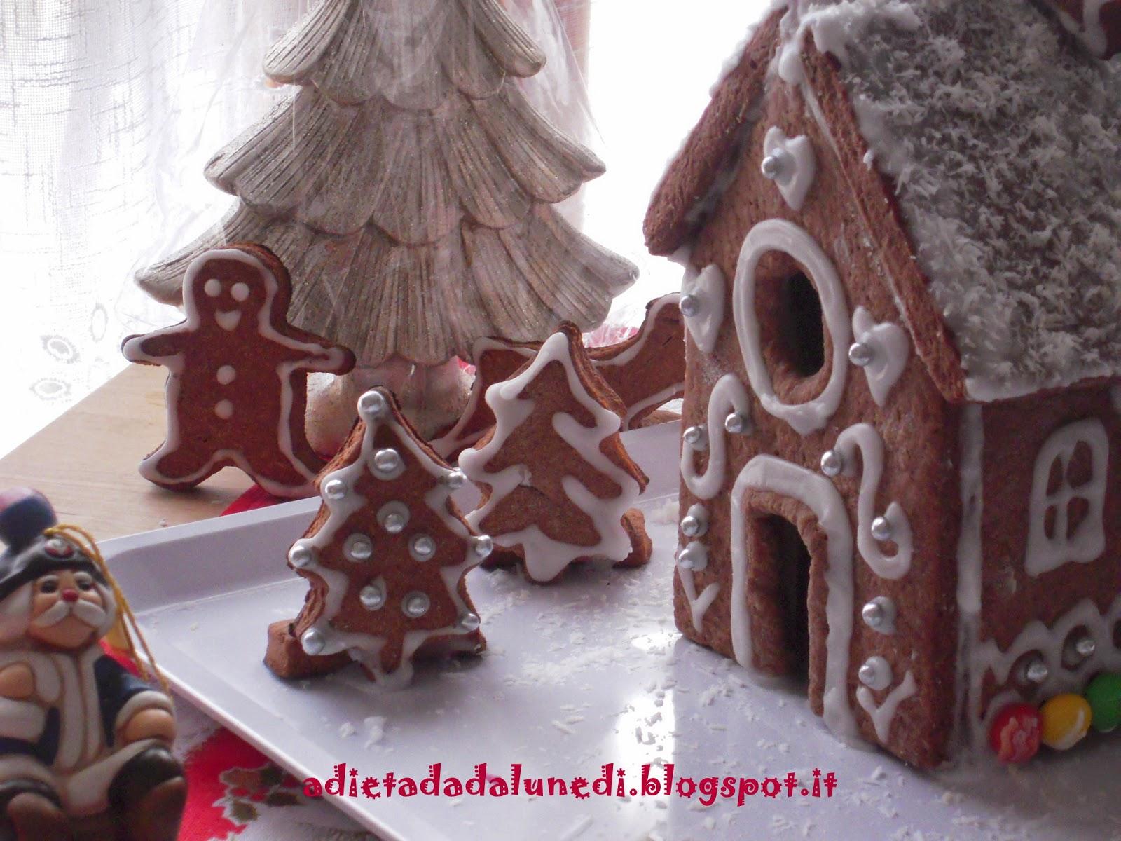 Casetta Di Natale Da Colorare : A dieta da lunedì casetta di pan di zenzero gingerbread