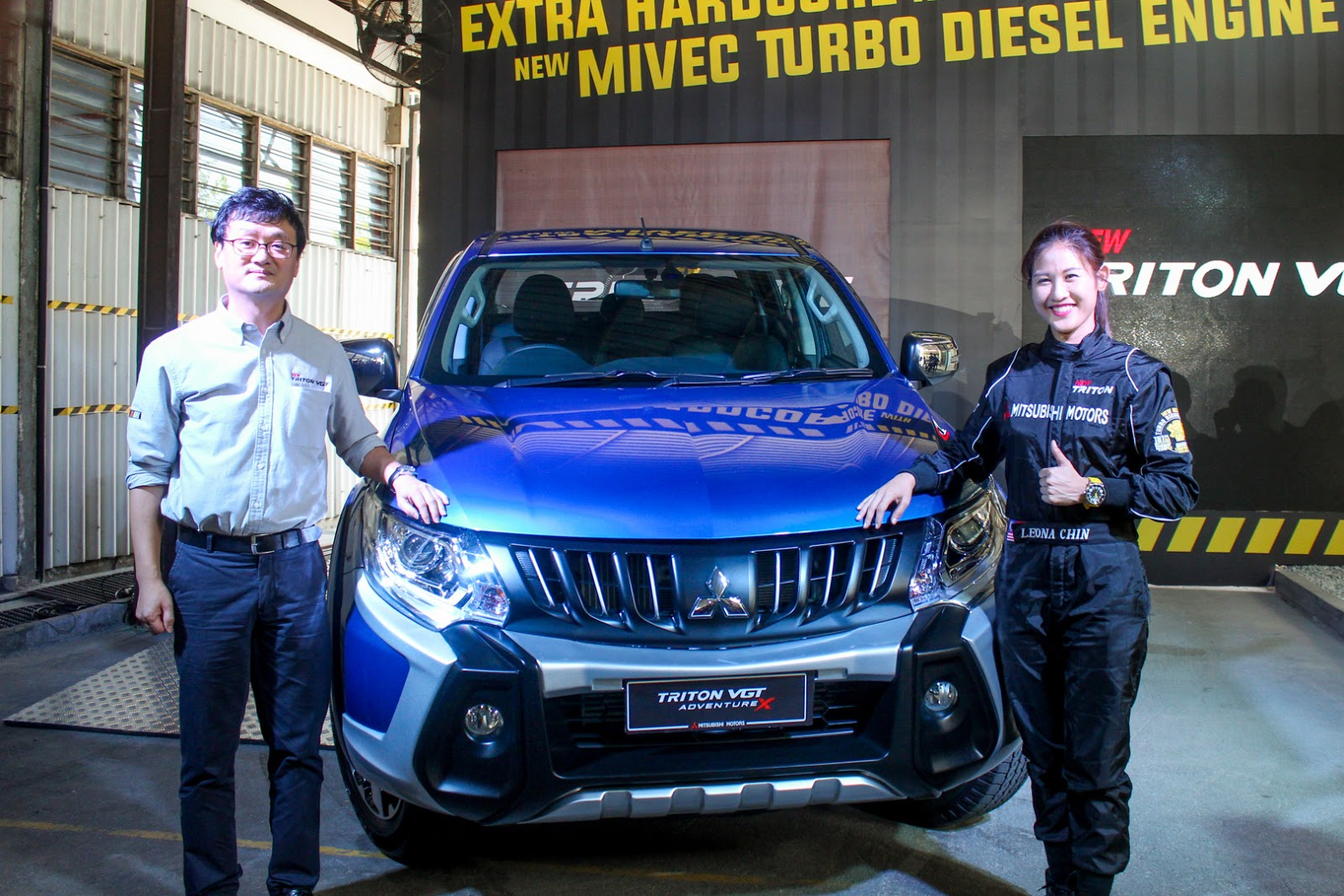 Motoring-Malaysia: THE MITSUBISHI TRITON IS LAUNCHED WITH A NEW