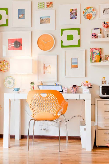 Funky Look Trend Home Office Idea ! Home Decor
