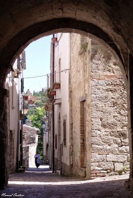 Bolognano, centro storico