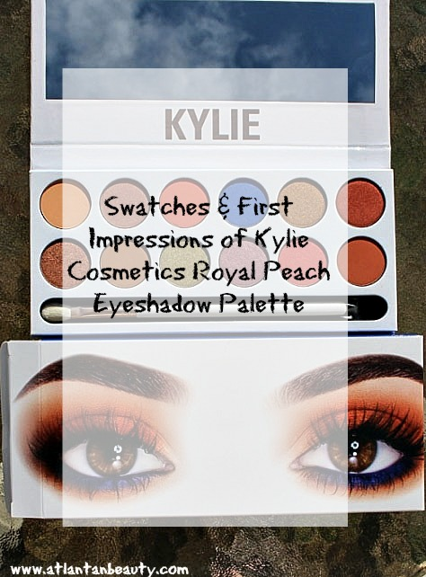 Kylie Cosmetics Royal Peach Palette