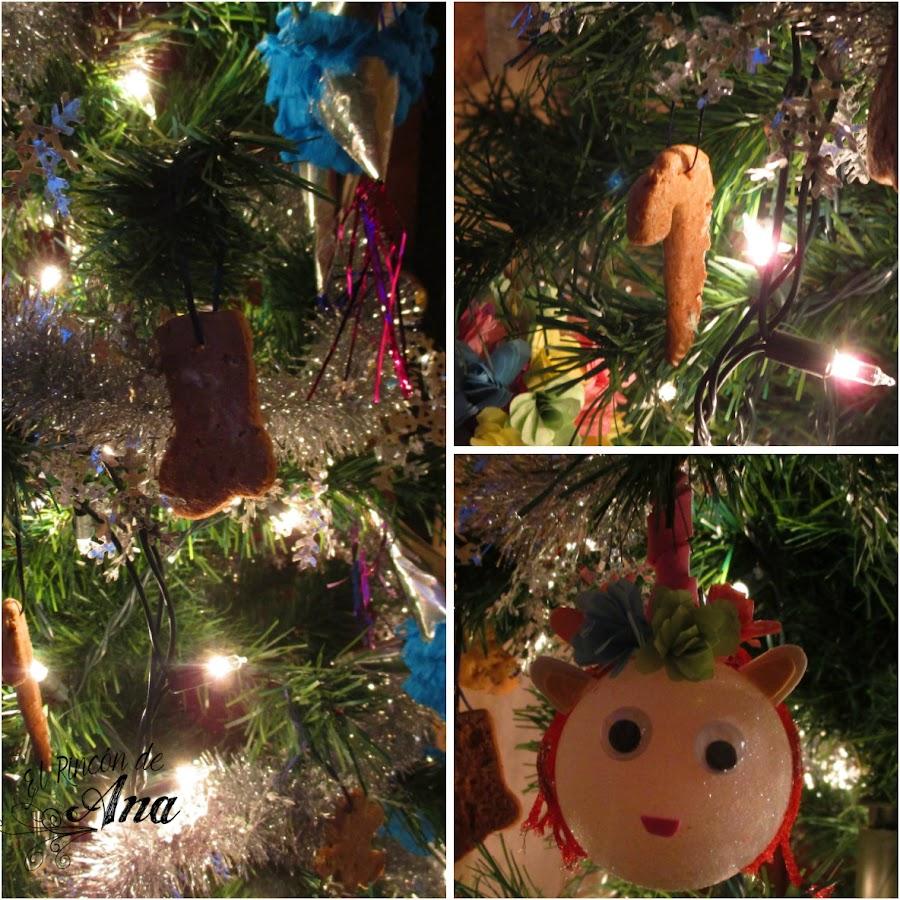 Árbol navideño de fantasía