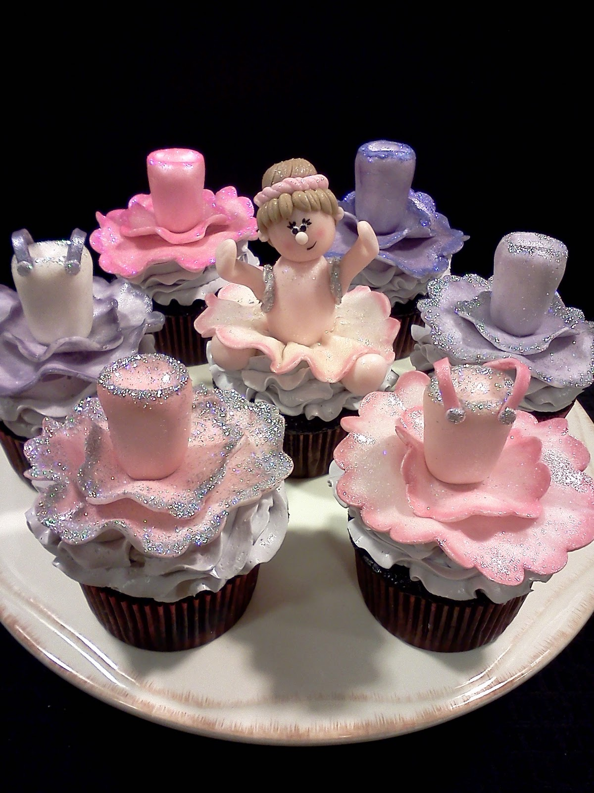 Lindy S Bayside Confections Ballerina Cupcakes
