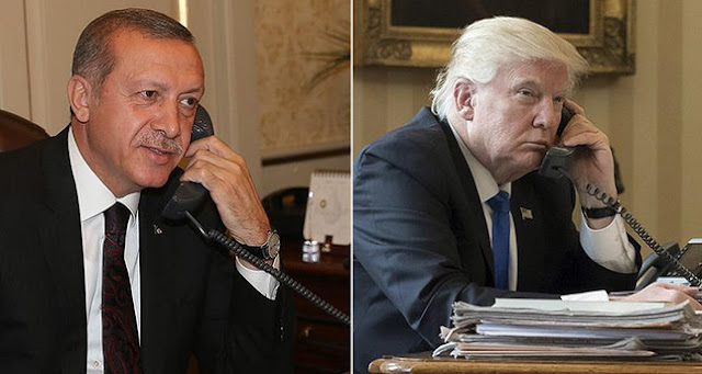 Γέφυρες «στήνουν» Τραμπ – Ερντογάν: Τι συζήτησαν