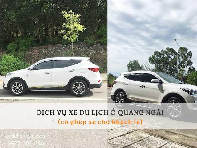 Dịch vụ thuê xe ở Quảng Ngãi