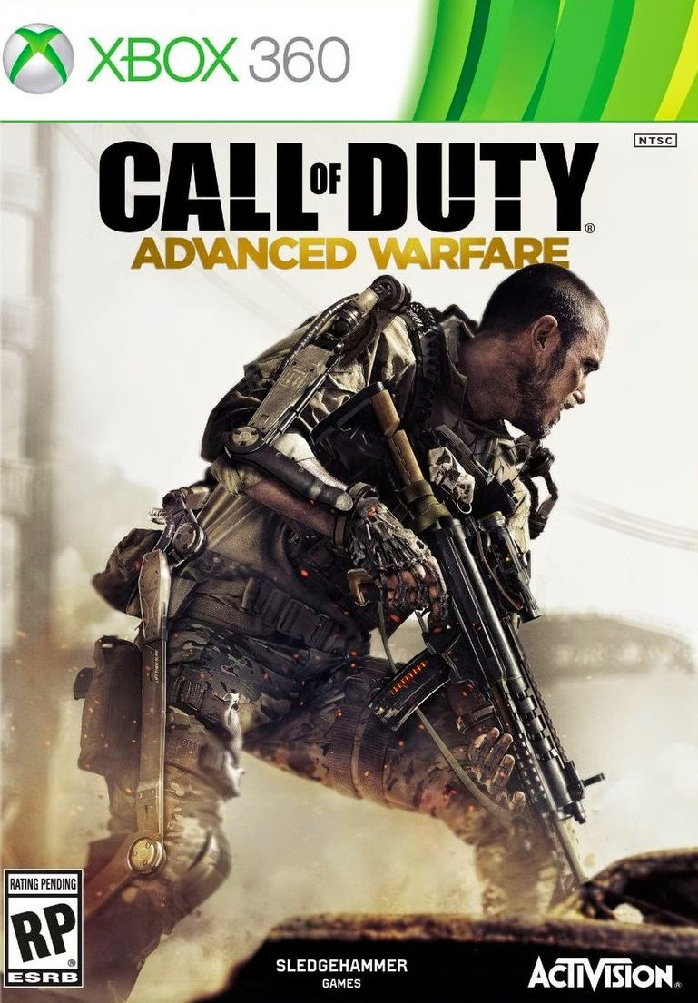 Call Of Duty Advanced Warfare XBOX 360 Cover Caratula