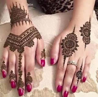 Mehndi designs for fingers 2018