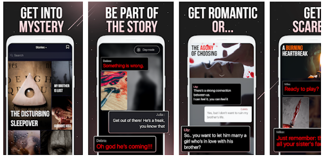 Thrill Mobile App - chat book with short stories to read - YouthApps