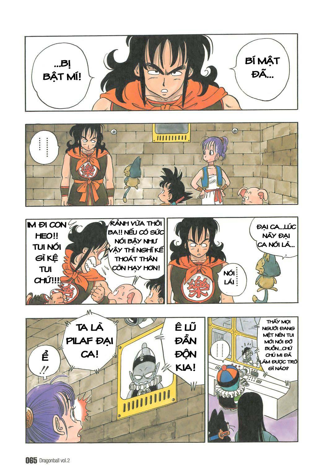 Dragon Ball chap 19 trang 4