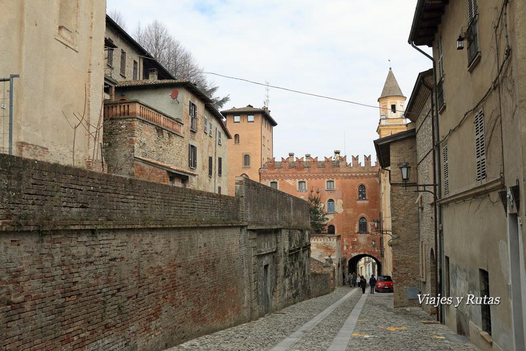 Palazzo Stradivari Castell'Arquato, Italia