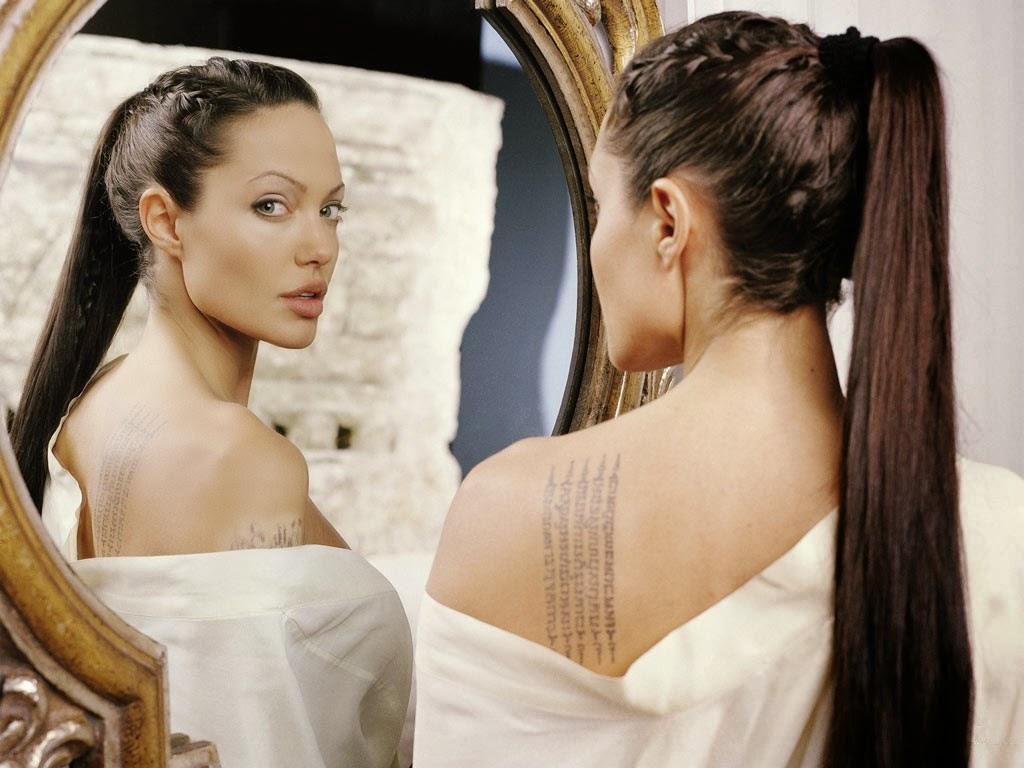 Angelina Jolie Hair Styles: Beautyklove: My Long Hair Inspiration- Angelina Jolie Made