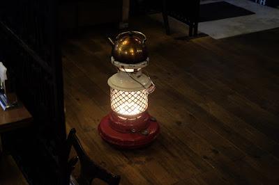 松本 珈琲茶房 かめのや レトロな灯油ストーブ