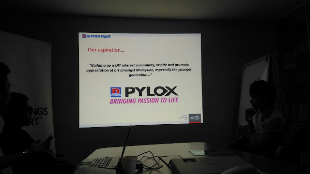 Pylox, Kenji Chai, Nippon Paint Malaysia,