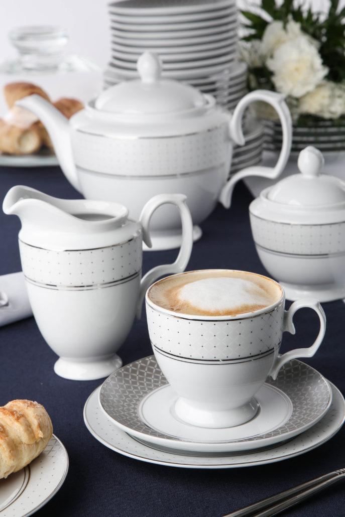 Zastawa porcelanowa idealnym prezentem ślubnym