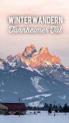 Schönkahler | Schneeschuhwanderung Tannheimer Tal | Panorama Wanderung Tirol | Tourenbeschreibung mit GPS-Track