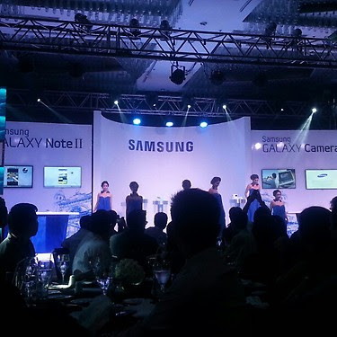 Samsung Galaxy Note2 and Galaxy Camera officially launched in Ph