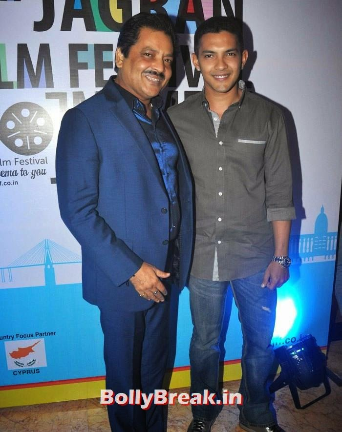 Udit Narayan, Aditya Narayan, 5th Jagran Film Festival Red Carpet Pics