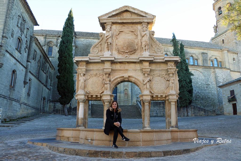 Fuente de Santa María, Baeza