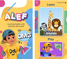 Education Aoo of the Month - Alef English Learning App