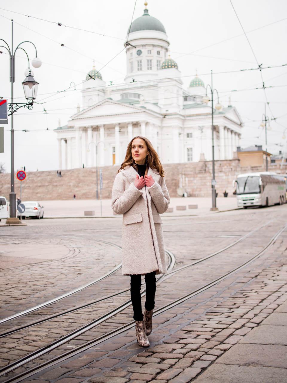 Scandinavian winter fashion inspiration - Talvimuoti, asuinspiraatio, muotibloggaaja, Helsinki