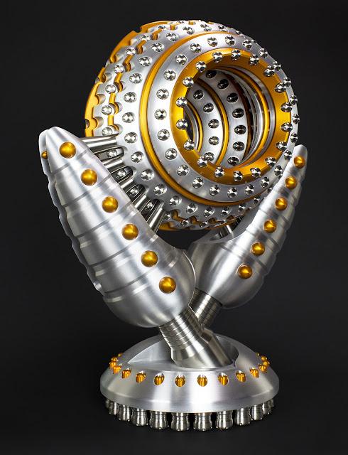 CNC art, Industrial design, Sculpture, Machinist sculptor