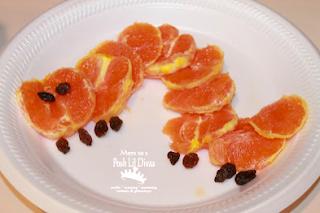Caterpillar with Orange Wedges