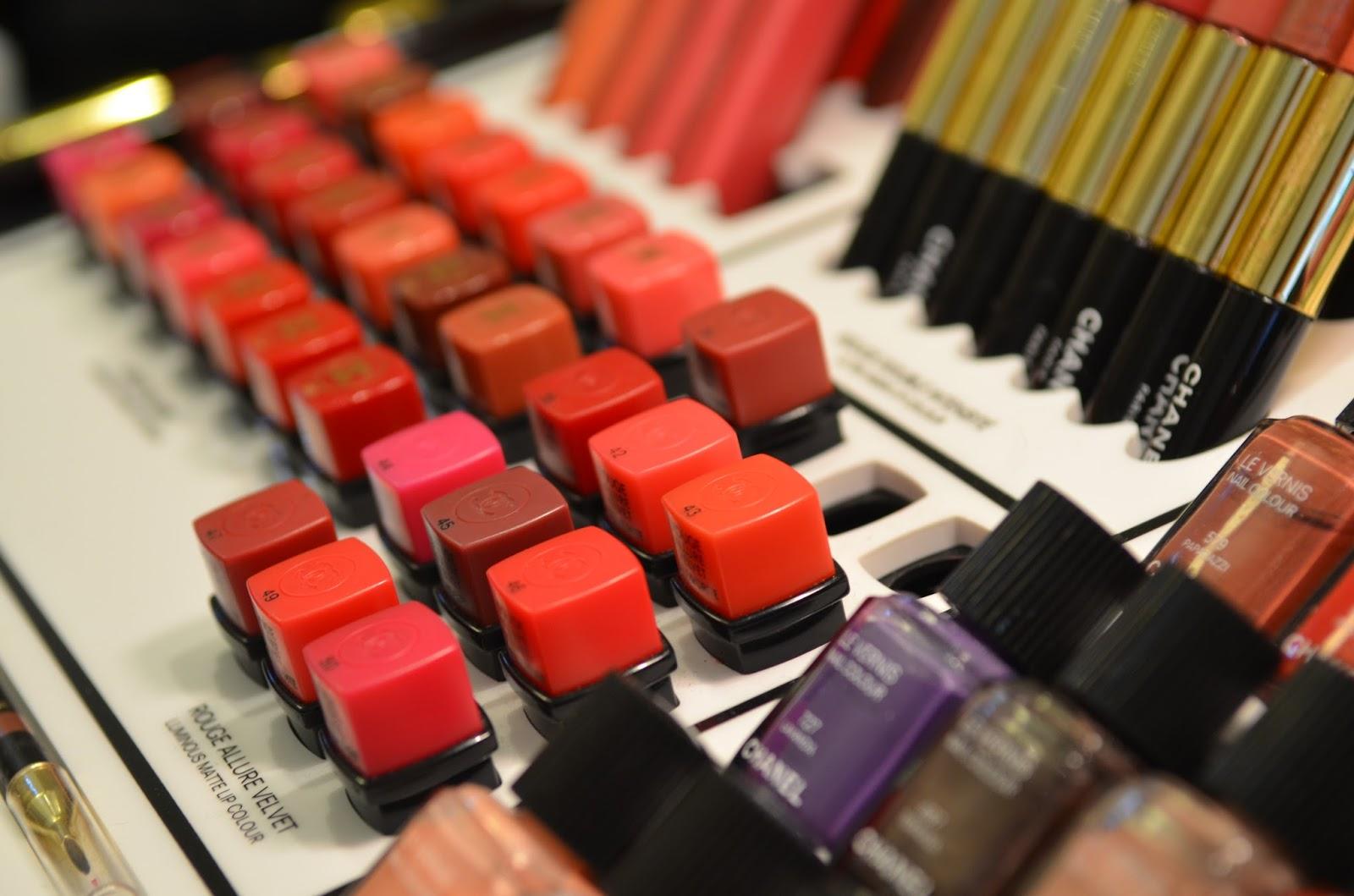 Chanel Rouge Allure Velvet Swatches Comparisons