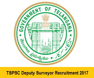 Telanagan PSC  Deputy Surveyor Notification