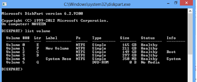 How To Hide Any Local Disk Using Command prompt In Windows