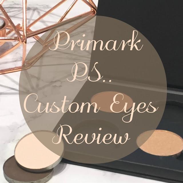 Morphe 60p Dupe? Primark Ps... Custom Eyes Review