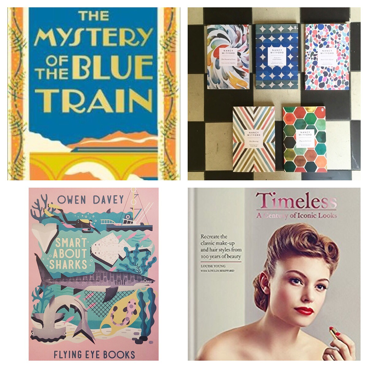 Mystery of the Blue Train, Nancy Mitford, Timeless