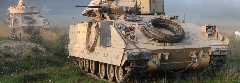США подарували Хорваті 84 БМП M2A2 Bradley