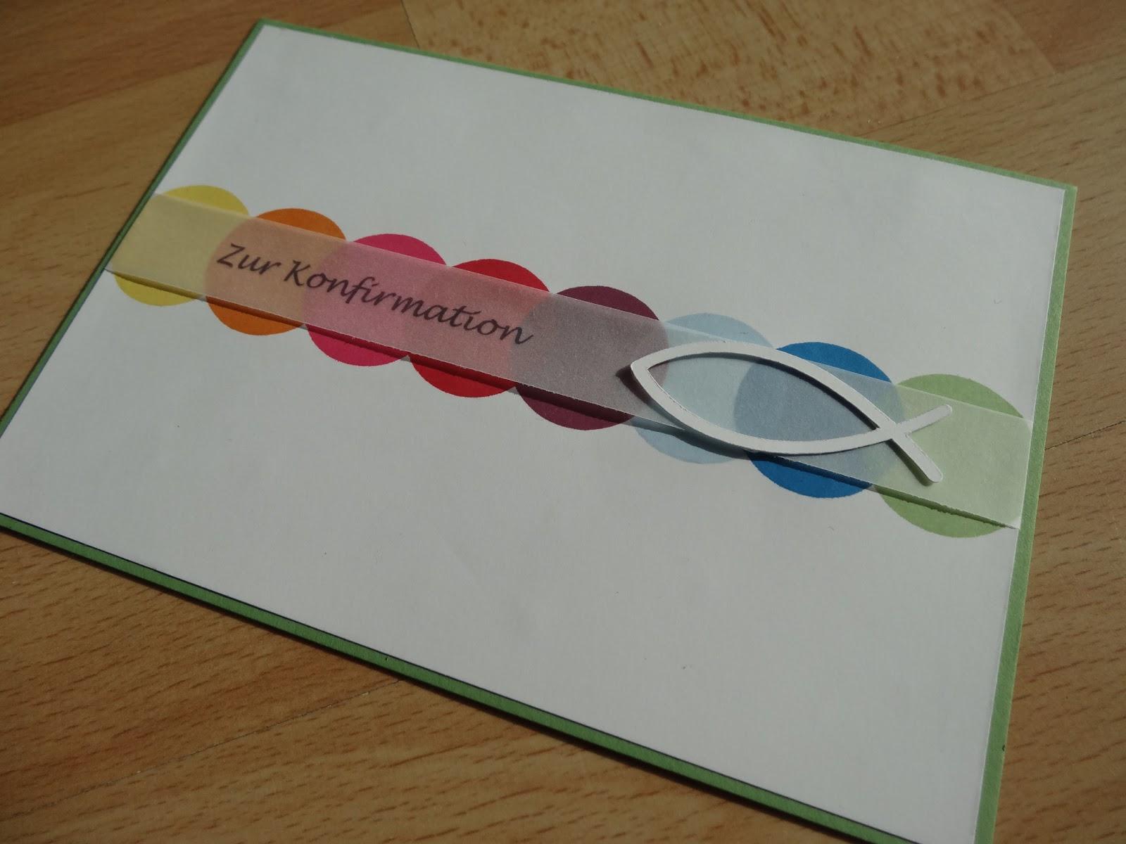 jenny's papierwelt: ~ karten zur konfirmation / kommunion