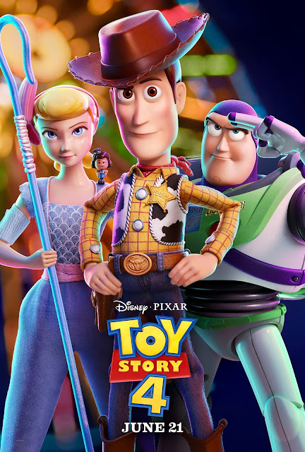 Toy Story 4 payoff trio poster