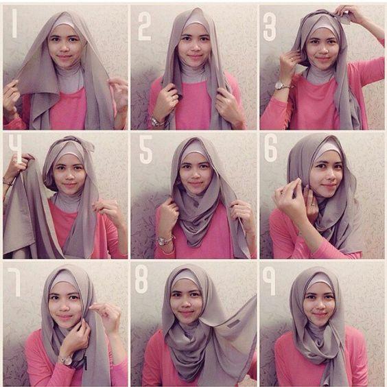 model cara berhijab style 3