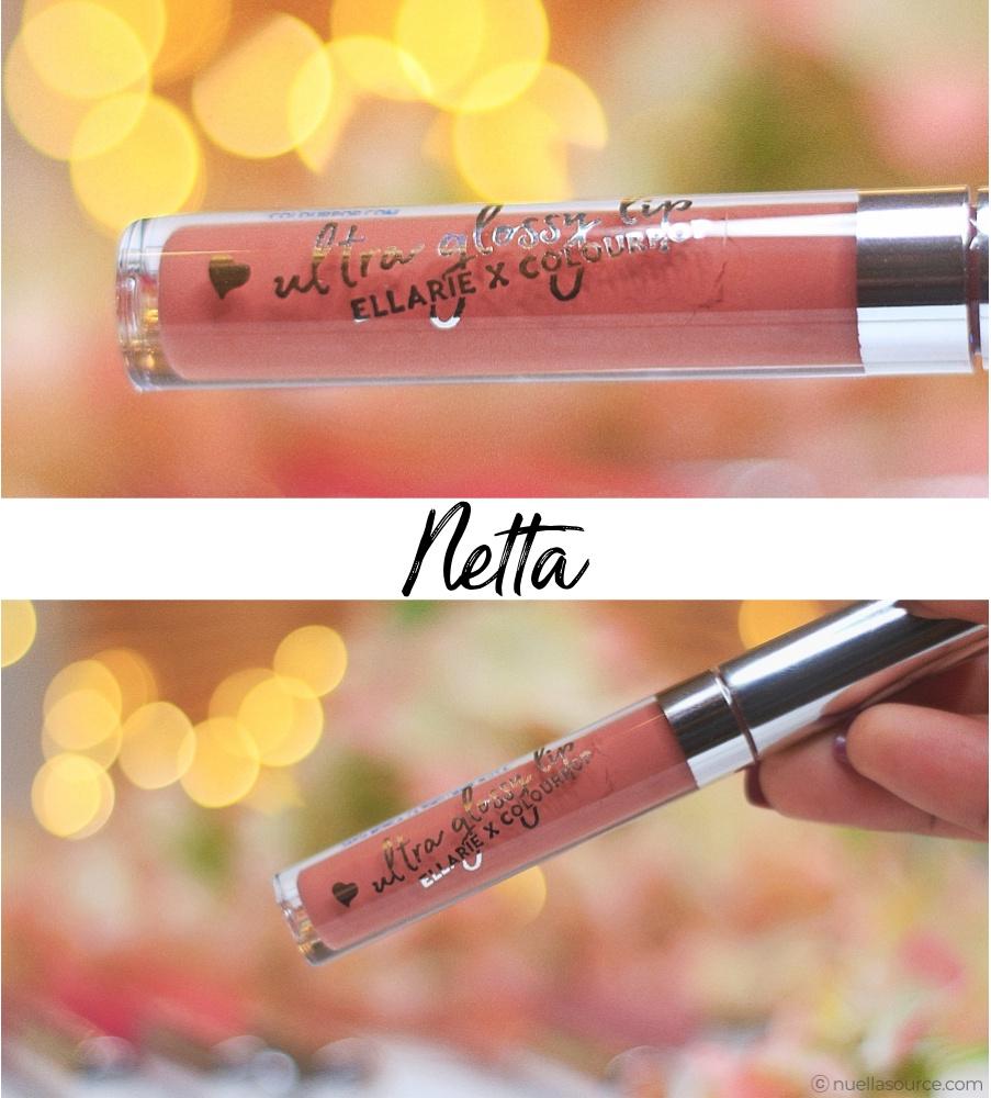 Colourpop ultra glossy lip ellarie netta