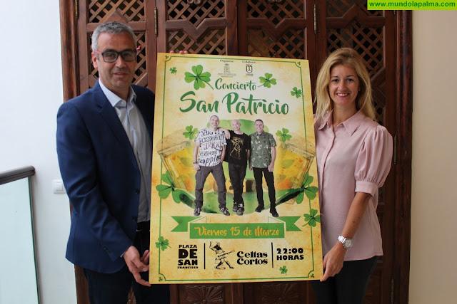 Celtas Cortos protagoniza el programa de actos del Ayuntamiento de Santa Cruz de La Palma con motivo del Día de San PatricioCeltas Cortos protagoniza el programa de actos del Ayuntamiento de Santa Cruz de La Palma con motivo del Día de San Patricio