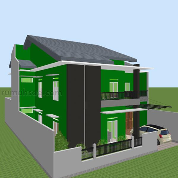 Desain Rumah Islami + Tempat Kost