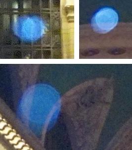 blue speeding orbs